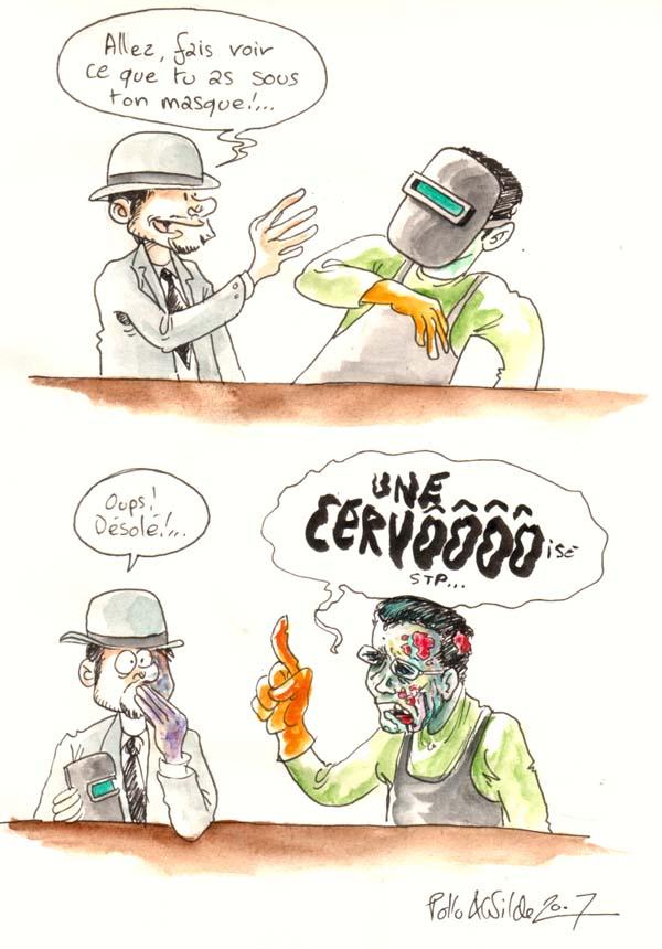 blague zombie